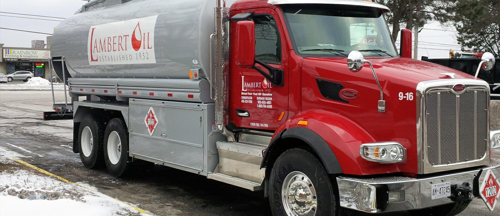 Delivery Turnaround & Locations | Lambert Oil